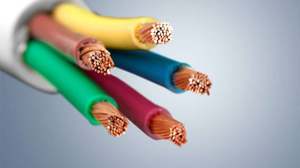 copper network cables